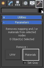 remove material